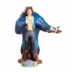 Amazon.com - Disney Traditions by Jim Shore 4013251 The Beast and the Prince Double Sided Figurine 10-1/2-Inch - Beauty And The Beast