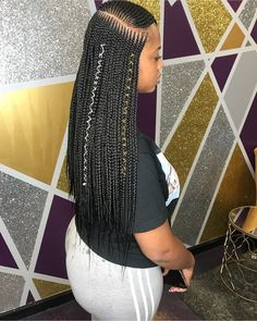 African Hair Braiding : long ideas for summer # feed in Braids long African Hair Braiding : long braids ideas for summer Black Girl Braids, Braids For Black Hair, Girls Braids, Box Braids Hairstyles, Bun Hairstyle, Braid Hairstyles With Weave, Scalp Braids With Weave, Short Hairstyles, Hairstyles Videos