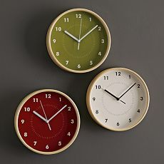 You will need a clock to help you stay on schedule!