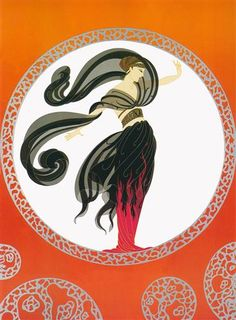Flames of Love - Erte