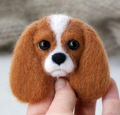 joannazatorska.blogspot.com #felt #dog #polandhandmade