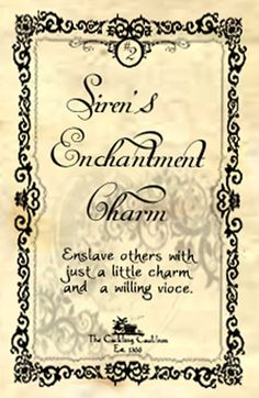 Sirens Enchantment Charm