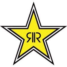 Rockstar Energy Drink Sticker - Star Logo