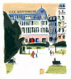Le Bon March // Dominique Corbasson