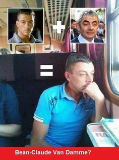 42 Of Today's Freshest Pics And Memes Van Damme, Funny Memes, Hilarious, Jokes, Mr. Bean, Joke Of The Day, Funny As Hell, Funny People, Happy People