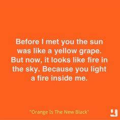 Orange is the New Black. Gotta love crazy eyes!
