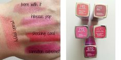 .5 maybelline lip shades for spring. spring lipstick shades, swatches, beauty, makeup