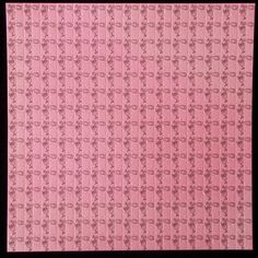 Pink Champagne Blotter Art - late 1990's traditional