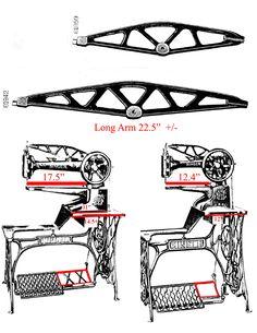 Adler 104-4 Sattlernähmaschine Nähmaschine