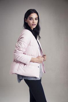 Shanina Shaik for Gina Tricot, Lookbook AW14.