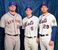 Love the new Mets jersey set. Classic blue and orange.
