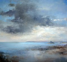 Evening Clouds Over Mounts Bay, Amanda Hoskin