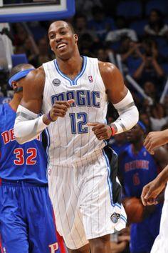 Detroit Pistons v Orlando Magic: Dwight Howard  by Fernando Medina