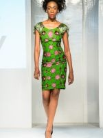 Ella & Gabby collection at Africa Fashion Week London 2012