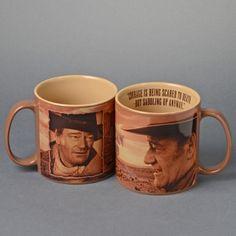 Courage Mug featuring John Wayne