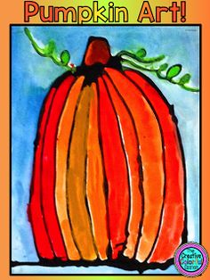 Pumpkin Watercolors