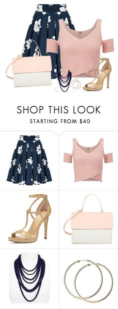 """1190"" by caremcbear ❤ liked on Polyvore featuring Lipsy, MICHAEL Michael Kors, Eddie and BaubleBar"