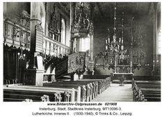 Luther-Kirche Insterburg, Alter Markt, Bildarchiv Ostpreußen