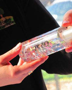 Water, glycerine and bling - Irresistible Ideas for play based learning
