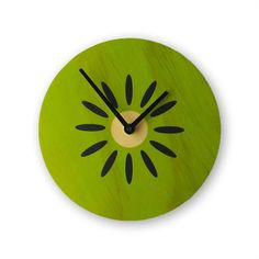 Kiwifruit+Clock+Green,+$21.95, now featured on Fab.