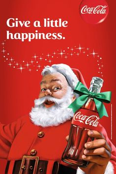 Coca-Cola Christmas Posters over 80 years - Mirror Online
