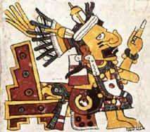 Tlazolteotl from Borgia