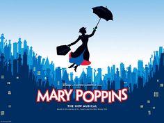 Mary Poppins.  Capitol theater Salt Lake City, Utah