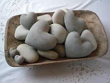 Yeowzers: 15 Natural Rock Shapes for Valentines.