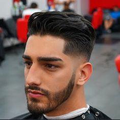 Faded haircuts for men! - Faded haircuts for men! Faded haircuts for men! Images and Video tutorials! Hipster Haircuts For Men, Top Hairstyles For Men, Hipster Hairstyles, Cool Mens Haircuts, Hairstyles Haircuts, Short Hair Cuts, Short Hair Styles, Mid Fade Haircut, Low Skin Fade