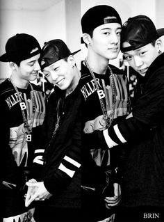 Bobby and Hanbin - still waiting for iKON!!!!!!!!!!!