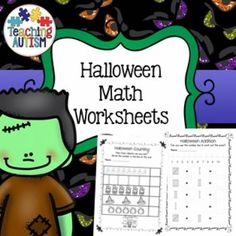 This download includes 95 different math worksheets, linked to the theme of Halloween.All worksheets are no prep, simply print out and…