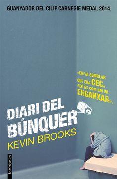 Diari del búnquer - Kevin Brooks: ???? #JN #diaripersonal #tancament #introspecció