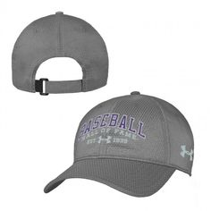 a4e413bb510 Women s Under Armour Baseball Hall of Fame Gray Zone Adjustable Cap Caps  For Women