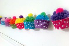 Decorate with a Cupcake Garland