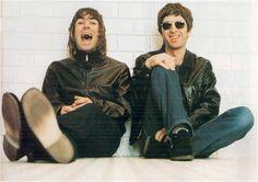 Noel y Liam Gallagher :)