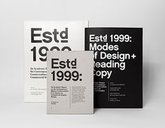 Vedi questo progetto @Behance: \u201cEstd 1999: An Academic Report\u201d https://www.behance.net/gallery/23070193/Estd-1999-An-Academic-Report