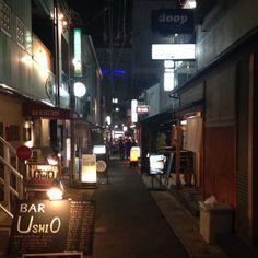 夜 #神戸  #北長狭 #三ノ宮 by azazzaza