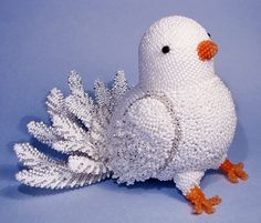 Beautiful beaded accessories and toys by Vera Orlova