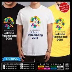 T-Shirt Asian Games 2018 Jakarta Palembang