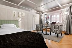 The new interior design for the rooms in the Widder Hotel holds true to the…