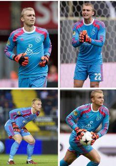 Jasper Cillessen in action - goalkeeper Netherlands NT / Ajax Amsterdam
