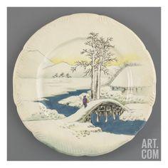 Service Lambert-Rousseau : assiette plate Giclee Print by Henri Lambert at Art.com