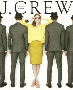 crew august 2011 web blast (and catalog cover) J Crew Style, My Style, Style Blog, J Crew Catalog, Classy Cubicle, Catalog Cover, Vogue, Young Professional, Thats The Way