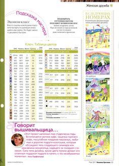 Outdoor girls & Enjoying Gods masterpiece - color chart