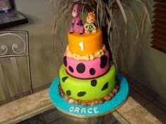 Pebbles Cake ~ cute!