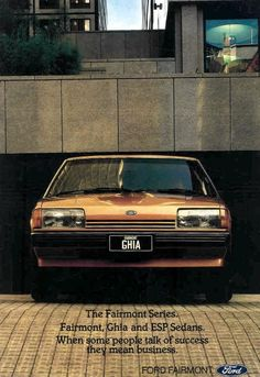 Ford Fairmont Ghia XE Period Color, Aussie Muscle Cars, Australian Cars, Car Brochure, Ford Lincoln Mercury, Ford Fairlane, Ford Falcon, Ford Models, Cars Motorcycles