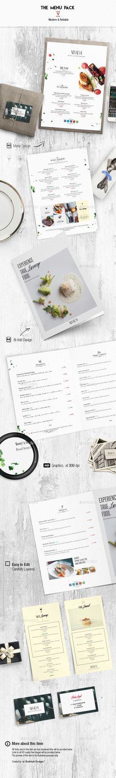 The fifth version of Menu design as a product from Badshah designs. Restaurant & hotel branding