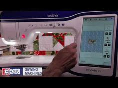 Brother Dream Machine 2 -Stacking Decorative Stitches in the Hoop - YouTube