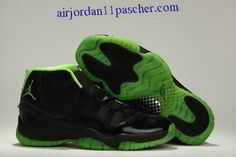 classic fit 08093 87928 Air Jordan 11 Noir Vert 2013 Chaussures Nike Air Jordan Retro, Air Jordan  Shoes,
