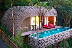 Ten of The Worlds Most Beautiful Tree House Restaurants Forest Resort, Jungle Resort, Resort Spa, Monte Carlo, Santorini, Keemala Phuket, Tree House Resort, Beautiful Tree Houses, Phuket Resorts
